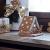 Villeroy und Boch - Winter Bakery Decoration Lebkuchenhaus, dekorativer Teelichthalter aus Hartporzellan, braun/weiß - 3