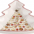 Villeroy und Boch Winter Bakery Delight Große Schale in Baum-Form, Premium Porzellan, Weiß/Rot - 2