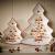 Villeroy und Boch Winter Bakery Delight Große Schale in Baum-Form, Premium Porzellan, Weiß/Rot - 3