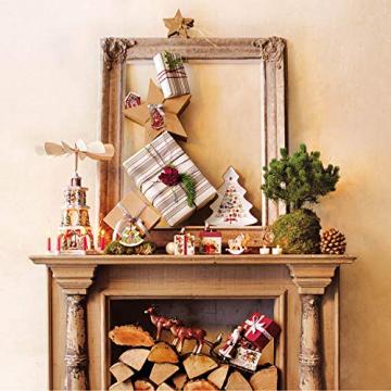 Villeroy und Boch Winter Bakery Delight Große Schale in Baum-Form, Premium Porzellan, Weiß/Rot - 4