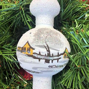 Weihnachtsbaum-Spitze aus Glas + Christbaum-Spitze Standard + Handarbeit aus Lauscha - 6
