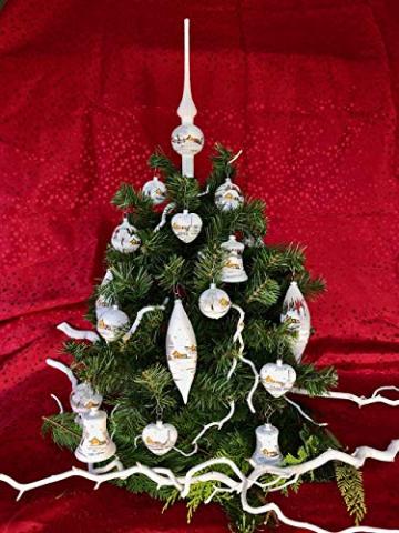 Weihnachtsbaum-Spitze aus Glas + Christbaum-Spitze Standard + Handarbeit aus Lauscha - 7