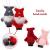 Weihnachtswichtel aus Holz 8-teiliges Set in Geschenkbox, 9 cm Baumanhänger Weihnachtsanhänger, mit Anhänger - Winterkinder als Weihnachtsbaumschmuck, Deko & Geschenk - 4
