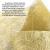 WELTRXE Tischläufer, Wiederverwendbaren Dekostoff aus Polyesterfabern Sicherer Tischband in Vielen Farben zur Dekoration 23cm × 15m Golden Hochzeit Tischdeko auch Ostern Festival Geschenkband - 4