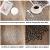 wiipara 6er Set Platzsets Rund 38cm rutschfest Platzdeckchen Abwaschbar, PVC Abgrifffeste Hitzebeständig Tischsets Rund Platz-Matten für Küche Speisetisch Bankett (Silber, 6er Set) - 2
