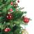 Yorbay Weihnachtskugeln 44er Set Christbaumkugeln aus Glas mit Aufhänger, Weihnachtsdeko für Weihnachten, Weihnachtsbaum, Tannenbaum, Christmasbaum(Mehrweg) (Rot+Gold) - 3