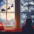 Yuson Girl 108 Stk Schneeflocken Fensterbild Abnehmbare Weihnachten Aufkleber Fenster Weihnachten Deko Wandtattoo Weihnachten Statisch Haftende PVC Aufkleber - 3