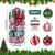 30 Stück Weihnachtskugeln,6cm Weihnachtskugeln Baumschmuck Christbaumkugeln Baumschmuck Christbaumschmuck Christbaumkugeln Set Christbaumkugeln Kugel Christbaumschmuck für Weihnachtsdekorationen - 2