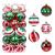 30 Stück Weihnachtskugeln,6cm Weihnachtskugeln Baumschmuck Christbaumkugeln Baumschmuck Christbaumschmuck Christbaumkugeln Set Christbaumkugeln Kugel Christbaumschmuck für Weihnachtsdekorationen - 1