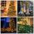 Avoalre 2000er led Lichterkette 50M Weihnachtsbeleuchtung Außen Lichterkette, 8 Modi IP44 Wasserdicht Lichterkette für Weihnachten Garten Party Geburtstag Hochzeit, Warmweiß Lichterkette - 3
