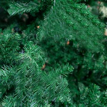 CHEYLIZI Weihnachtsgirlande Grün Künstliche Tannengirlande 2,7m Girlande Weihnachten Tanne Weihnachtsdeko für Aussen und Innen Deko für Weihnachten, Treppengeländer - 5