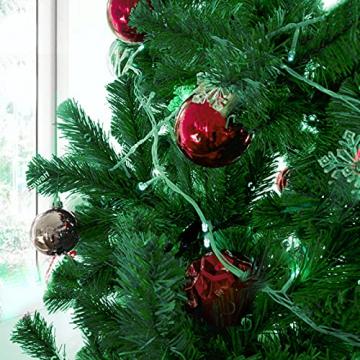 CHEYLIZI Weihnachtsgirlande Grün Künstliche Tannengirlande 2,7m Girlande Weihnachten Tanne Weihnachtsdeko für Aussen und Innen Deko für Weihnachten, Treppengeländer - 7