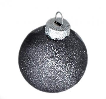 DARO DEKO Weihnachts-Kugel Mix Paket 52 Stück Silber - 2