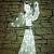 DECOLED Weihnachtsbeleuchtung Engel LED für Außen, 3D, kaltweiß, hohe Qualität - 3