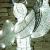 DECOLED Weihnachtsbeleuchtung Engel LED für Außen, 3D, kaltweiß, hohe Qualität - 4