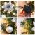 Faraone4w Weihnachtsgirlande,weihnachtsgirlande mit Beleuchtung,weihnachtsgirlande aussen,2.7m weihnachtsgirlande tannengirlande für Hausgarten Urlaub Hochzeit Party Treppen Kamine - 3