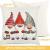 HIQE-FL 4 Stück Weihnachten Dekokissen,Sofakissen Hirsch,Weihnachts Kissenbezüge,Kissenbezüge Frohe Weihnachten für Sofa Auto Büro Bett Zuhause Wohnzimmer - 3