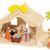 Holztiger Puppenhaus mit Weihnachtsstern (ohne Figuren, ohne Bäume) - 2