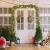 Juskys Weihnachtsgirlande 5m künstlich mit Beleuchtung – Lichterkette mit 100 LED warm-weiß IP44 - Tannengirlande für Innen & Außen – Weihnachtsdeko - 3