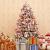JYHZ Weihnachtsdekoration, Schneeflocke/Beflockung Weihnachtsbaum, Hochwertige Kunst Weihnachten Kiefer Mit Reißverschluss-Dekorationen, Mit LED Lichter Und Dekorationen 600 Tip-grün 6 Feet (180 cm) - 1