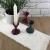 Kreaboo Fellband Kunstfell Tischband Tischläufer Dekoband Fell für Weihnachten Dekoration Basteln (15cm x 2m – Weiß) - 3