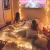 Lichterkette Außen 7.2M 50 LED Warmweiße Lichterkette Aussen mit USB Stecker 8 Modi Wasserdichte Kugel Lichterkette für Innen Dekoration Feste Garten Party Außen Balkons Weihnachten Terrasse - 3