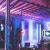 Luccase LED Vorhang Lichte 5 x 0,8 m 216 LED Wasserdichtes Lichterketten Lcicle Light Ausziehbares Licht mit Funkelndem Vorhang Fenster Dekor Weihnachtslicht (Blau) - 3