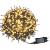 LZQ LED Lichterkette Außen Innen Wasserdicht IP44 Weihnachtsbeleuchtung mit 8 Leuchtmodi - für Innen Außen Garten Party Deko (80M 800 LED Warmweiß) - 1