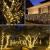 NEXVIN Solar Lichterkette Außen, 20M 200 LED Solar Lichterkette Aussen Wasserdichte, 8 Modi Solar Lichterkette Warmweiß für Garten, Terrasse, Balkon Deko - 2