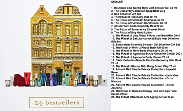 RITUALS Adventskalender 2021 Frauen EXKLUSIV - Beauty Kosmetik Advent Kalender, 24 Fenster Wert 250€, Pflege Weihnachtskalender Frau, Adventkalender - 3
