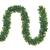 SALCAR PREMIUM Weihnachtsgirlande mit 100 LEDs - 3m - Tannengirlande mit Beleuchtung - 30V - Künstliche Girlande Weihnachtsdeko - Weihnachtsschmuck - Deko für Weihnachten, Treppen, Kamine - Grün - 1