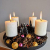 Schmucks HOME Adventskranz Metall mit 4 Kerzen Adventskranz modern Kerzenständer Adventskranz DIY - 2