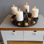 Schmucks HOME Adventskranz Metall mit 4 Kerzen Adventskranz modern Kerzenständer Adventskranz DIY - 3