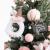 Shelf 45 cm, 60 cm, 90 cm vorbeleuchteter vordekorierter künstlicher Weihnachtsbaum aus Fichte, Feiertags-Weihnachtsbaum für Zuhause, Büro, Partydekoration - 2