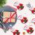 Sunshine smile Weihnachten Bestecktaschen,Geschirrhalter Besteckhalter Weihnachtsmann,Weihnachten Besteckhalter Bestecktasche,Weihnachtsmann Tischdeko,Weihnachten Dekoration Besteck(B, 12 PCS) - 1