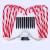 Surakey Festive LED Lichterkette - 10 Stück Weihnachten Beleuchtete Zuckerstangen Lichter Weihnachtsweg Marker, für Garten Dekoration, Gartenstecker Balkon Weihnachtsbeleuchtung Deko Außen - 3