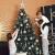 Sweelov Weihnachtsbaum Schmuck 73-teilig Weihnachtskugeln Glitzernd Kunststoff Christbaumschmuck Baumspitze Girlande und Sterne Silber/Grau/Blau, Ø6/4cm - 3
