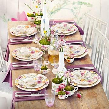 Villeroy & Boch 1041007609 Gechirr-Service, Porzellan, floral, 34,8 x 19,7 x 32,4 cm, 12 Einheiten - 5