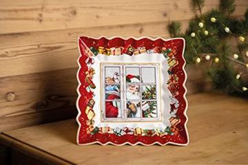 Villeroy & Boch 1483323718 Toy's Fantasy Schale eckig Santa (1 Stück) - 3