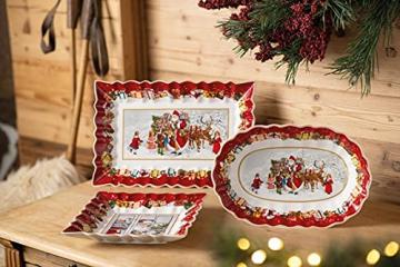 Villeroy & Boch 1483323718 Toy's Fantasy Schale eckig Santa (1 Stück) - 5