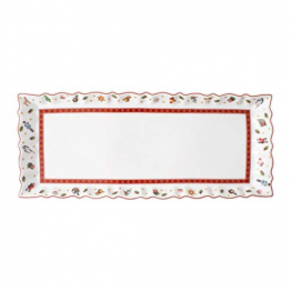 Villeroy & Boch Toys Delight Königskuchenplatte, Premium Porcelain, weiß, 39 x 16 cm, 14-8585-2220, bunt - 1