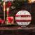 Villeroy & Boch - Toy's Delight La Boule, weihnachtliches Geschirr-Designobjekt, Premium Porzellan, spülmaschinenfest, bunt, 24 x 24 cm - 2