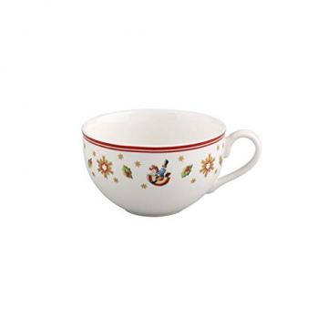 Villeroy und Boch Toy's Delight Tasse, 200 ml, Premium Porzellan, Weiß/Rot - 1