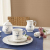 Villeroy und Boch Vieux Luxembourg Terrine, Premium Porzellan, weiß/blau - 4