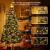Weihnachten Lichterkette Außen, BrizLabs 25M 200 LED Warmweiß und Bunt Dimmbar 11 Modi 3 Timer Wasserdicht Strom Beleuchtung mit Fernbedienung für Weihnachtsbaum Innen Hochzeit Party Haus Garten Deko - 3