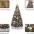 Weihnachtsdekorationen, Weihnachtsbaumdekorationen, künstliche hochwertige angelenkte fichte weihnachtsbäume, led leuchten verzierungen metallhalter urlaub dekorationen (Farbe: grün, Größe: 6 Fuß (180 - 2