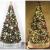 Weihnachtsdekorationen, Weihnachtsbaumdekorationen, künstliche hochwertige angelenkte fichte weihnachtsbäume, led leuchten verzierungen metallhalter urlaub dekorationen (Farbe: grün, Größe: 6 Fuß (180 - 3