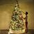 Weihnachtsdekorationen, Weihnachtsbaumdekorationen, künstliche hochwertige angelenkte fichte weihnachtsbäume, led leuchten verzierungen metallhalter urlaub dekorationen (Farbe: grün, Größe: 6 Fuß (180 - 4