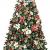 Weihnachtsdekorationen, Weihnachtsbaumdekorationen, künstliche hochwertige angelenkte fichte weihnachtsbäume, led leuchten verzierungen metallhalter urlaub dekorationen (Farbe: grün, Größe: 6 Fuß (180 - 1