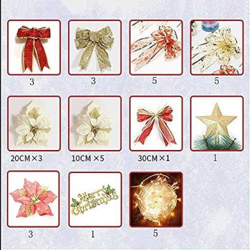 Weihnachtsdekorationen, Weihnachtsbaumdekorationen, künstliche hochwertige angelenkte fichte weihnachtsbäume, led leuchten verzierungen metallhalter urlaub dekorationen (Farbe: grün, Größe: 6 Fuß (180 - 7